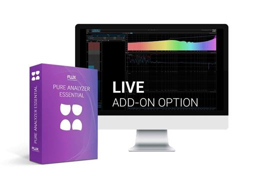 Picture of Flux Pure Analyzer Live Option Complete Live Real Analyzer System Solution plugin Download