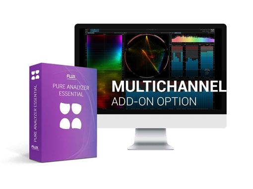 Picture of Flux Pure Analyzer Multichannel Option Next Generation Multichannel Analyzer Plugin Download