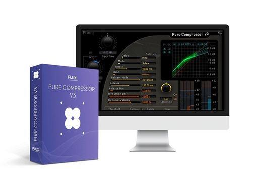 Picture of Flux Pure Compressor V3 Precision Compressor With Full Control Plugin Download
