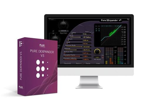 Picture of Flux Pure DExpander V3 Dynamics Expander Plugin Download