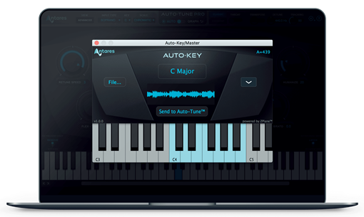 Picture of Antares Auto-Key Automatic key and scale detection Plugin Download
