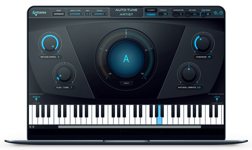 Picture of Antares Auto-Tune Artist low-latency pitch-correction/effects Plugin Download