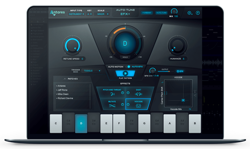 Picture of Antares Auto-Tune EFX + Multi-effects rack Plugin Download
