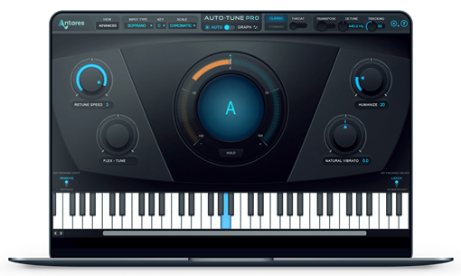 Picture of Antares Auto-Tune Pro Pitch Correction- Automatic and Graphica Plugin Download