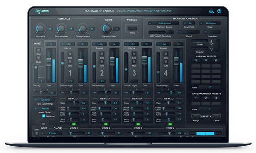 Picture of Antares Harmony Engine Evo Vocal Modeling Harmony Generator Plugin Download