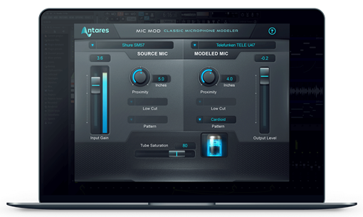 Picture of Antares Mic Mod Classic Mic Modeler Plugin Download