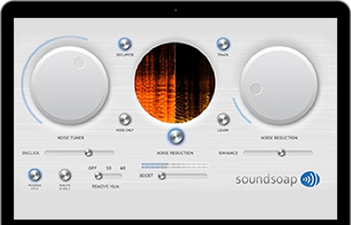 Picture of Antares SoundSoap 5 Affordable Audio Cleaning for Everyone Plugin Download