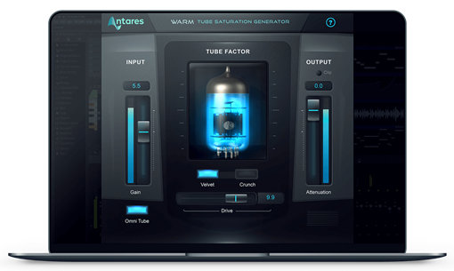Picture of Antares Warm Tube Saturation Generator Plugin Download