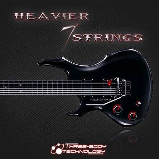 Picture of ThreeBodyTech Heavier7Strings Virtual Metal Guitar Download