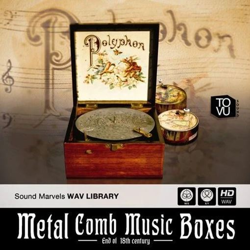 Picture of Tovusound Metal Comb Music Boxes A worldwide unique recording Kontakt and /Wave Library Download
