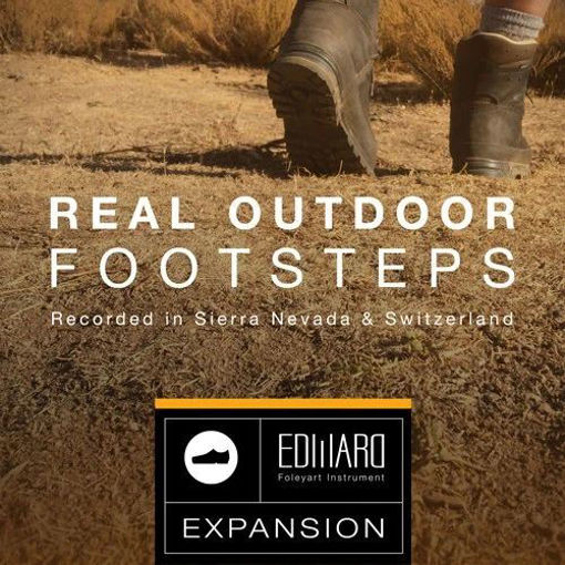 Picture of Tovusound Real Outdoor Footstep EFI Expansion for Edward Kontakt Library Download