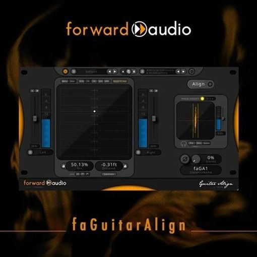 Picture of forward audio faGuitarAlign Automatic Phase Alignment plugin Download