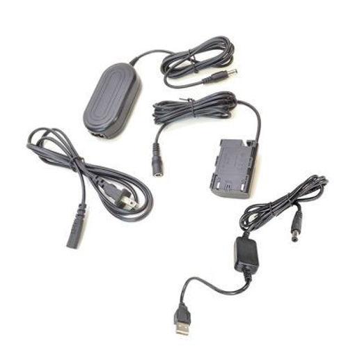 Picture of Bescor DRE6 Coupler , AC Adapter & 5VUSB8V 5v USB Power Source to Coupler Adapter Kit