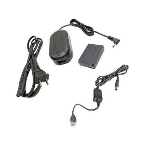 Picture of Bescor LPE12 Coupler, AC Adapter & 5VUSB8V 5v USB Power Source to Coupler Adapter Kit