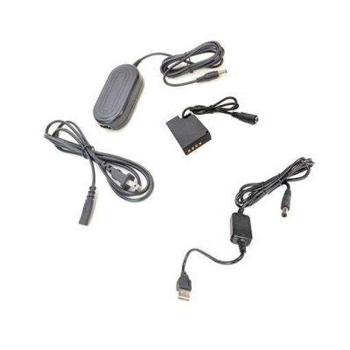 Picture of Bescor NPW126S Coupler, AC Adapter & 5VUSB8V 5v USB Power Source to Coupler Adapter Kit