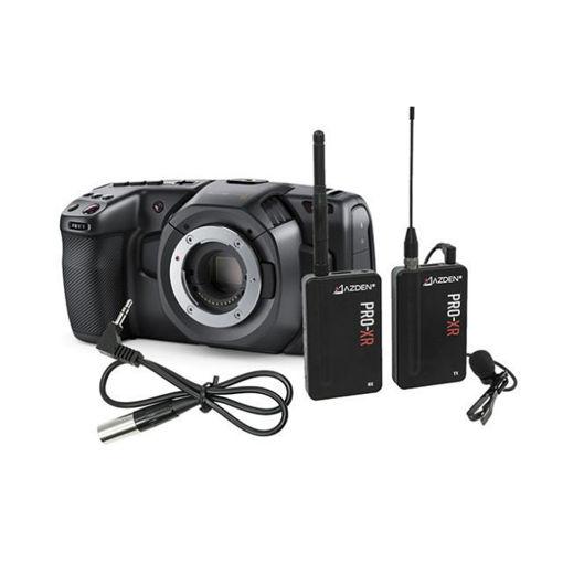 Picture of Blackmagic Design Pocket Cinema Camera 4K & Azden PRO XR Kit