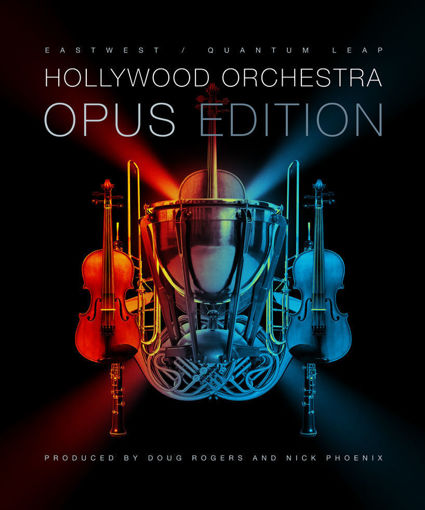Picture of East West HOLLYWOOD ORCHESTRA Opus Edition GOLD Library Download