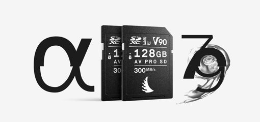 Picture of Angelbird Match Pack for Sony Alpha 7 | Alpha 9 128 GB V90 | 2 PACK