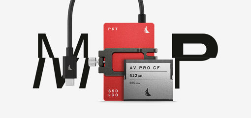Picture of Angelbird Match Pack for Blackmagicdesign Pocket Cinema Camera 6K 1 TB SSD2go PKT Red   512 GB CFast