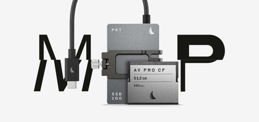 Picture of Angelbird Match Pack for Blackmagicdesign Pocket Cinema Camera 6K 1 TB SSD2go PKT Grey | 512 GB CFast