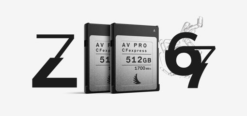 Picture of Angelbird Match Pack for Nikon Z6 | Z7 512 GB | 2 PACK