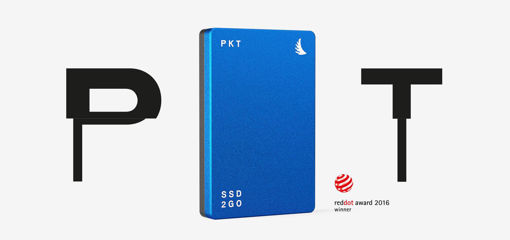 Picture of Angelbird SSD2GO PKT MK2 2TB Blue