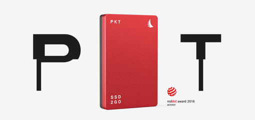 Picture of Angelbird SSD2GO PKT MK2 2TB Red