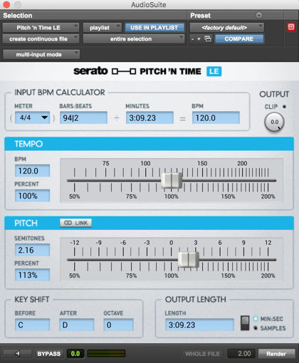 Picture of Serato Pitch n Time LE Download