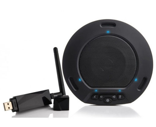 Picture of HUDDLEPOD AIR WIRELESS USB SPEAKERPHONE AND RECEIVER SET (BLACK)
