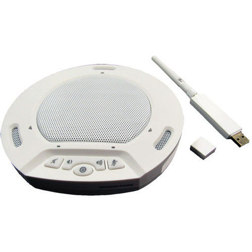 Picture of HUDDLEPOD AIR WIRELESS USB SPEAKERPHONE AND RECEIVER SET (WHITE)
