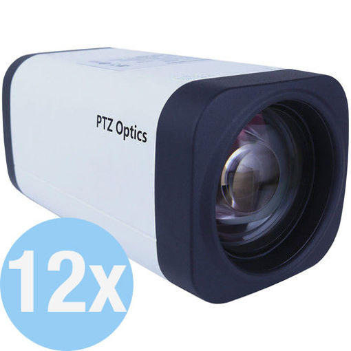 Picture of PTZOPTICS 12X-ZCAM 1080P BOX CAMERA WITH 12X ZOOM LENS