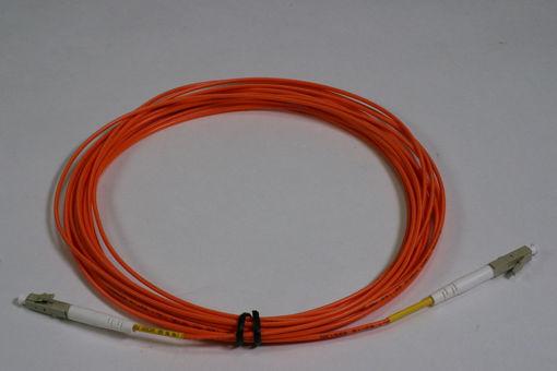 Picture of MADI Fiber Optic Cable, 2 meter  LC-LC, Multimode OM2, Simplex, 50/125