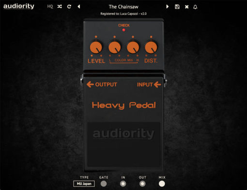 Picture of Audiority Heavy Pedal mkII Download