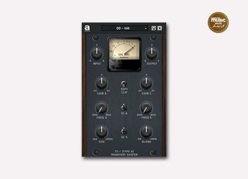 Picture of Audiority TS-1 Transient Shaper Download