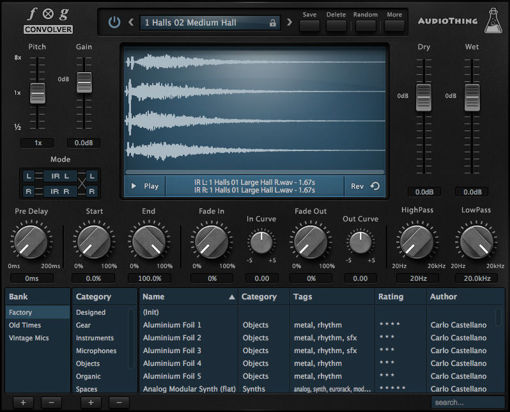Picture of AudioThing Fog Convolver Download