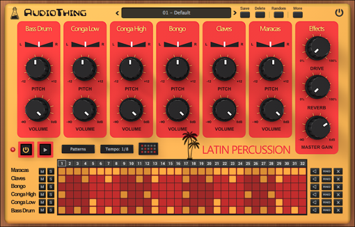 Picture of AudioThing Latin Percussion Download