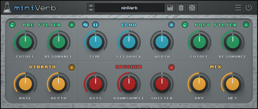 Picture of AudioThing MiniVerb Download