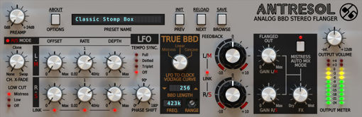 Picture of D16 Antresol Classic Flanger for Modern Production Audio Plugin Download