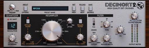Picture of D16 Decimort 2 High-quality bit crusher Audio Plugin Download