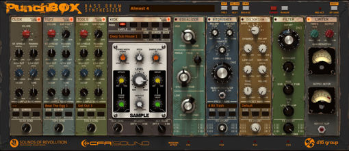Picture of D16 PunchBox Bass drum synthesizer Virtual Instrument Download