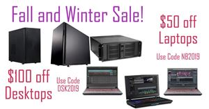 Fundamental Audio and Video 2019 Fall and Winter Sale!