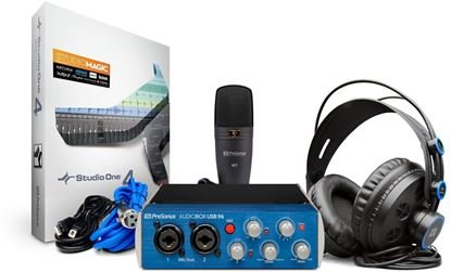 Picture of Presonus Audiobox Stereo Recording Bundle