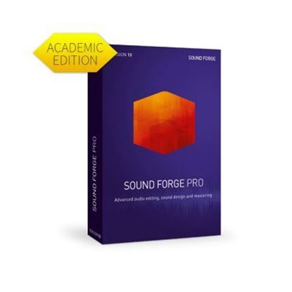 Picture of Magix Sound Forge Pro 13 (Academic) Download