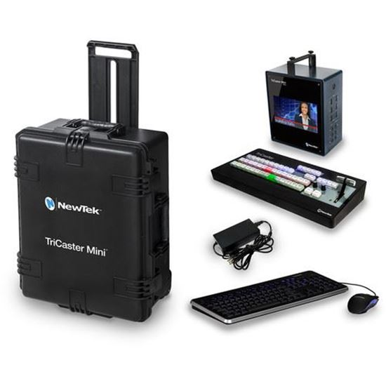Picture of NewTek TriCaster Mini HD-4 SDI BUNDLE with Control Surface and Travel Case