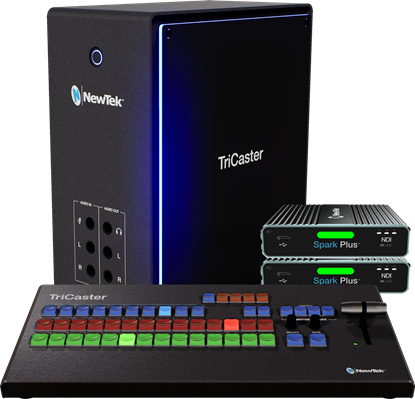 Picture of NEWTEK TRICASTER MINI 4K|NDI BASE BUNDLE WITH CONTROL SURFACE