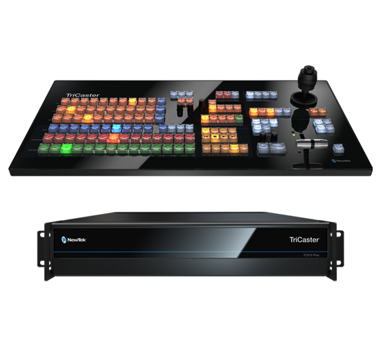 Picture of NEWTEK TRICASTER 410 PLUS BASE BUNDLE WITH SMALL CONTROL SURFACE