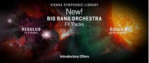 New Product and Introductory Pricing:  Vienna Symphonic Library Big Bang Orchestra: Regulus and Solaris