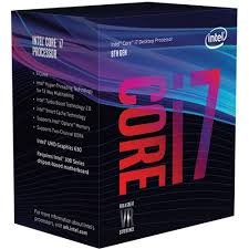 Intel 8th Gen Coffee Lake i7 processors